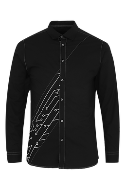 Black Analogue Shirt