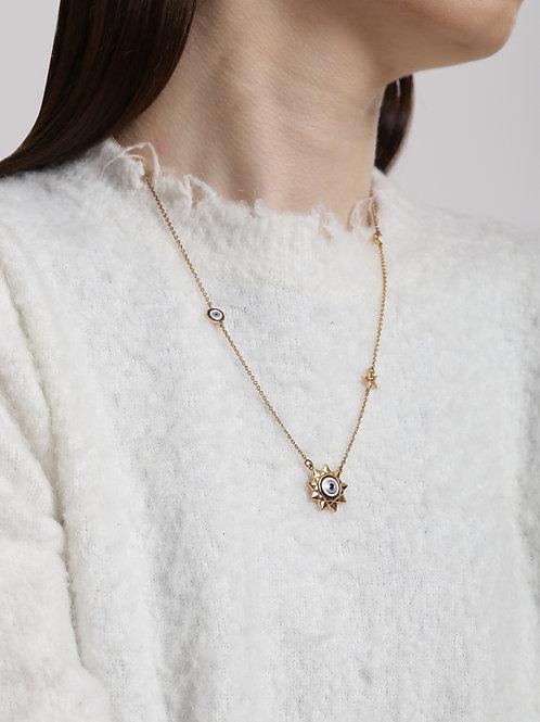 Eye Promise Celeste Gold Pendant