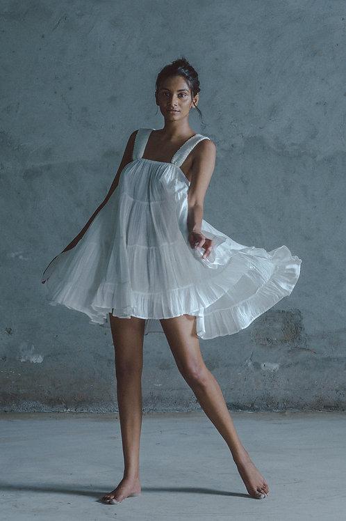 White Nata Sun Dress