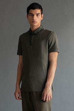 Olive Ethan Slim Fit T-Shirt