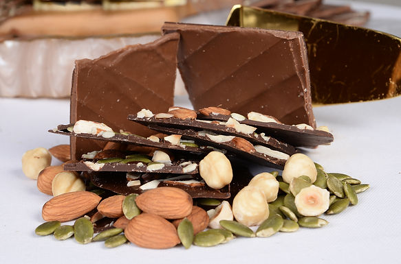 Dark Chocolate & Orange Bark Thins