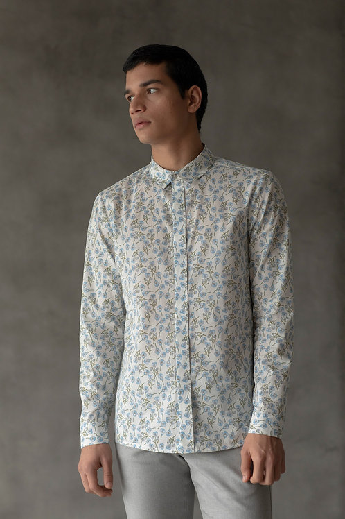 White Kenji Shirt