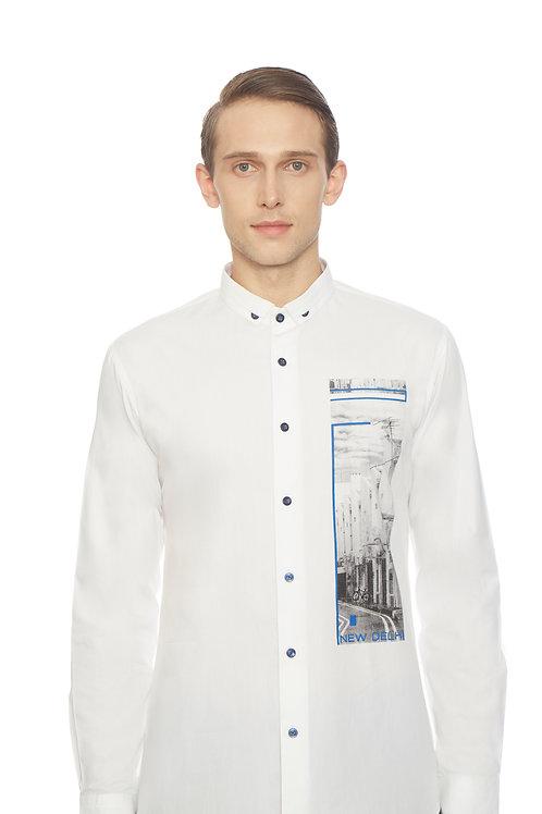 White Sleek Shirt
