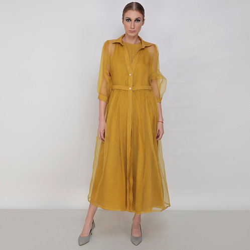 Jumpsuit With Organza  Dress