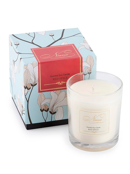 Red Spice Candle