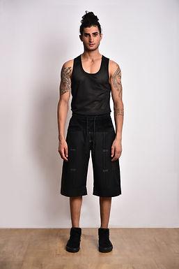 Black Long Shorts