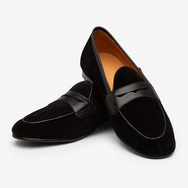 Black Belgian Loafers
