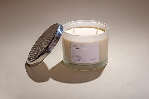 Mud infused in Oud (Candle)