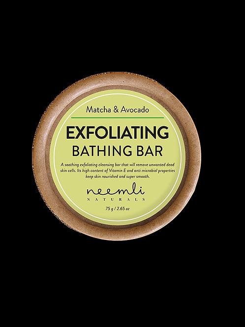Matcha & Avocado Exfoliating Bathing Bar