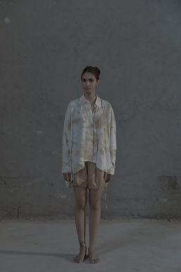 White Mocana Tie & Die Set