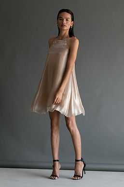 Gold Redina Dress