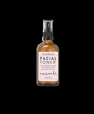 Rose & Patchouli Facial Toner
