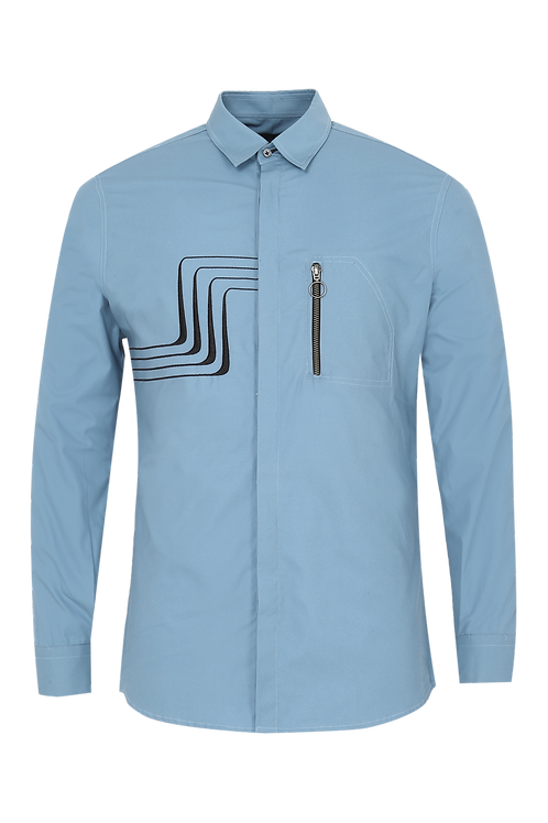 Blue Resistor Shirt