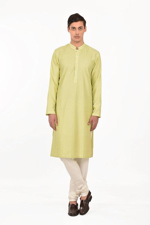 Green Gwalior Kurta Set