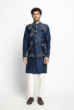 Blue Sadri Set