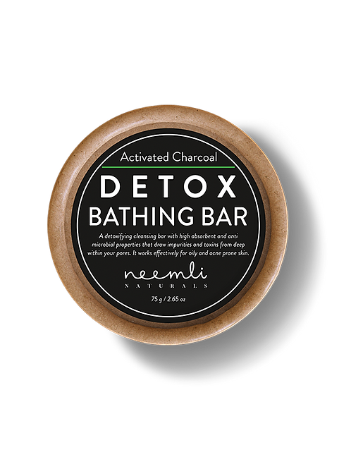 Activated Charcoal Detox Bathing Bar