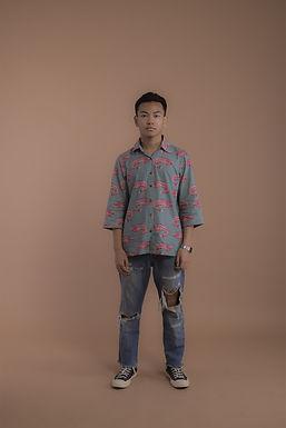 Blue Koi Shirt