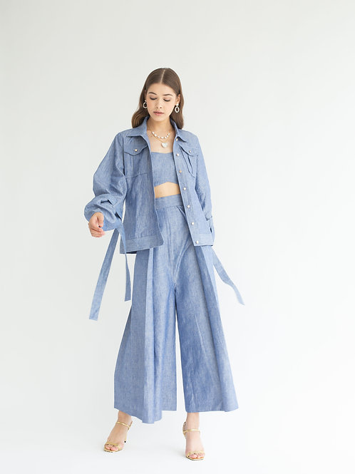 Demin Blue Pants