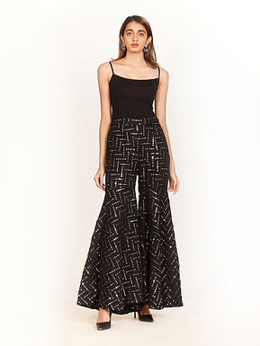 Black Mirror Sharara Pants