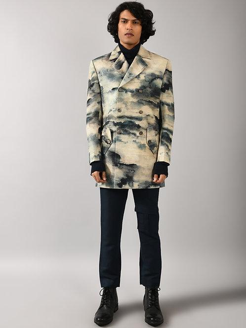 Multicolour Camo Cloud Jacket
