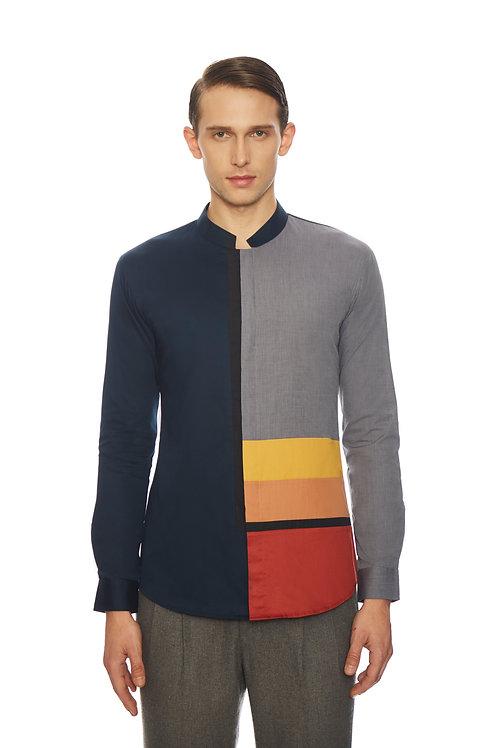 Navy Color Black Shirt