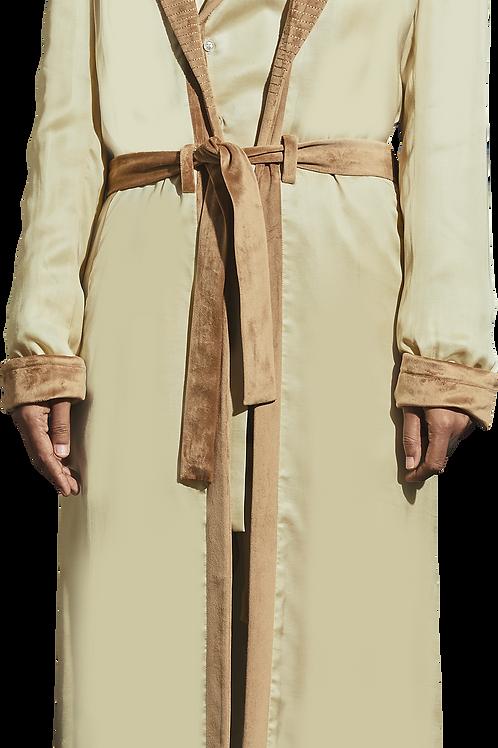 Beige Robe Women