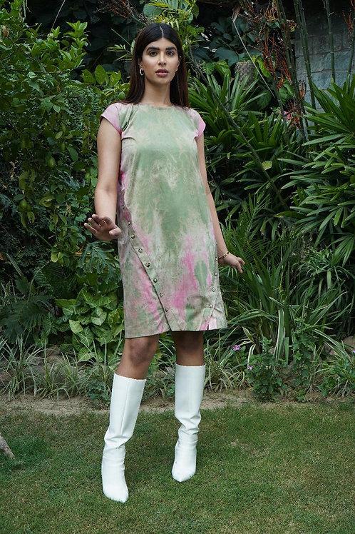 Tie-Dye Pastel Dress