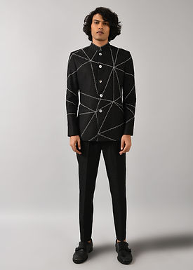 Black Fence Wire Jacket