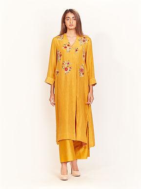 Mangal Habutai Silk Tunic