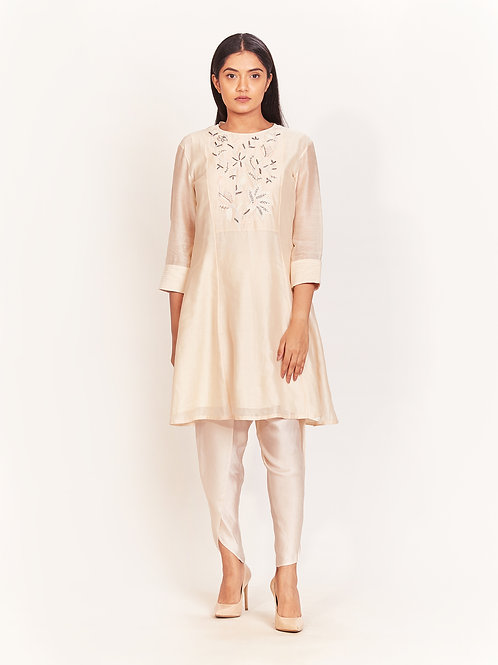 Ivory Short Kurta Set