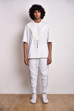 White 01 V-Tee
