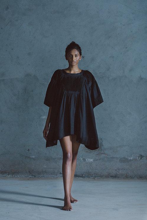 Black Aksa Dori Dress
