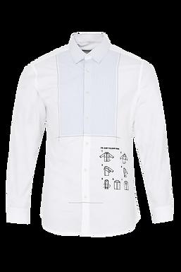 White Manual Shirt
