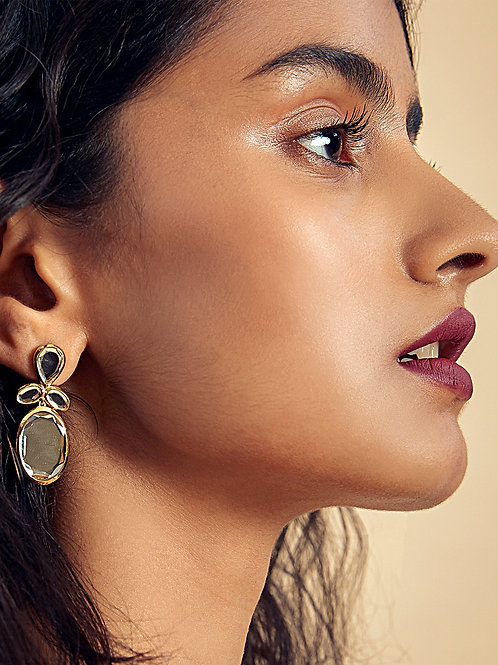 Mirrors on the Move Drop Mirror Earrings