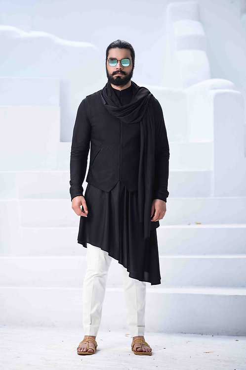 Black Kurta Set
