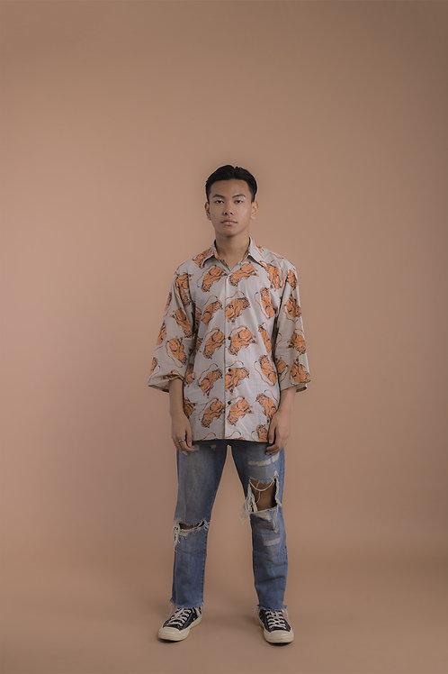 Beige Monkey Shirt