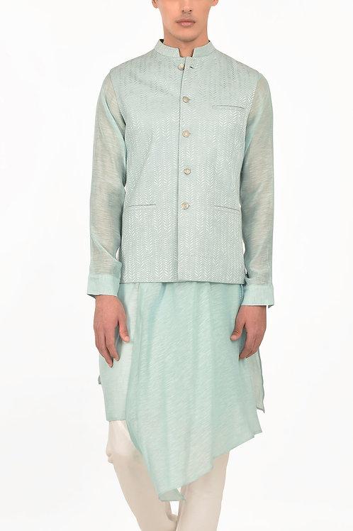 Blue Delialh Waist jacket