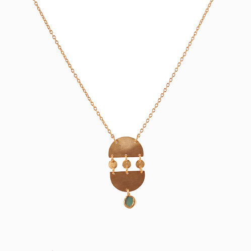 Metal Stories Pendant Necklace