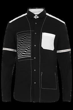 Black Glitch Shirt
