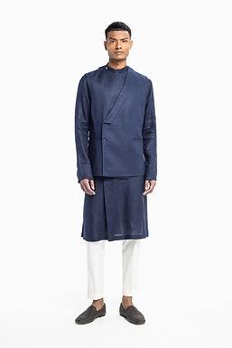 Blue Monk Sadri Set