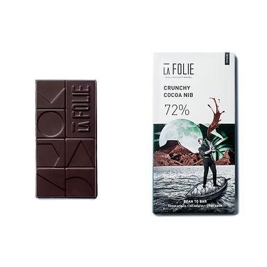 72% Crunchy Cacao Nib