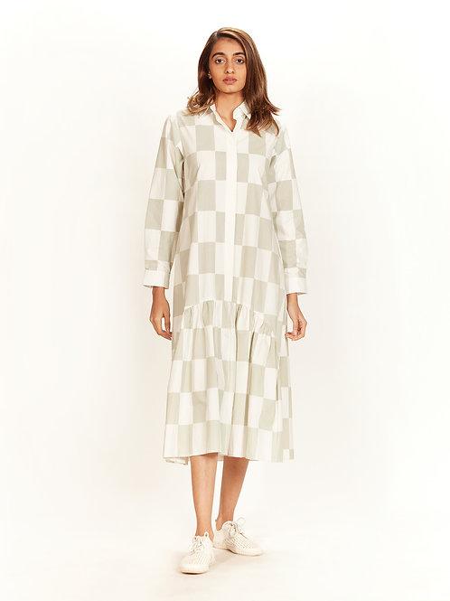 Ivory Shirt Dress