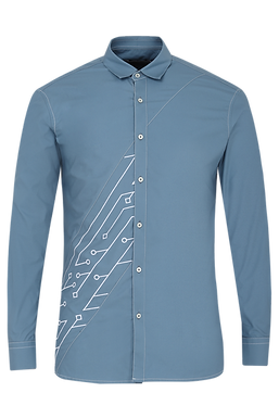 Blue Analogue Shirt