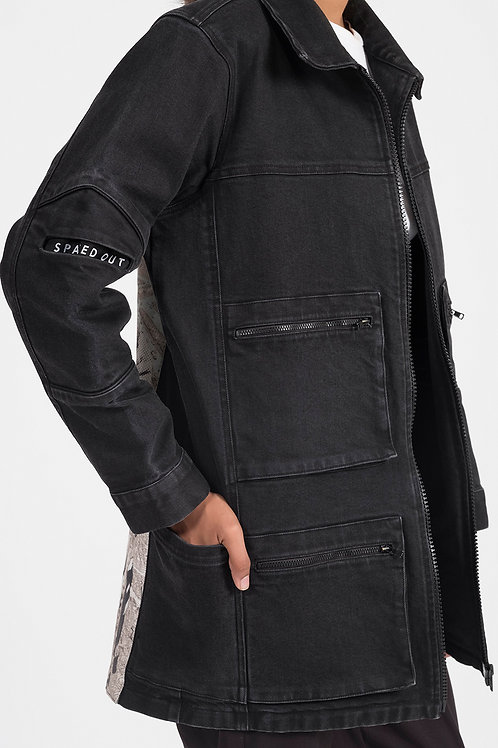 Black Astro Denim Jacket