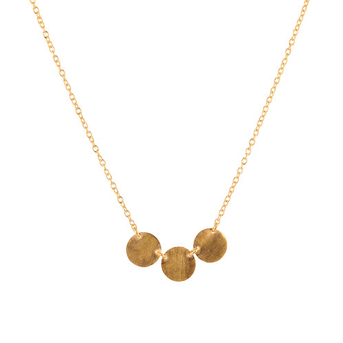 Earthy Discs Necklace