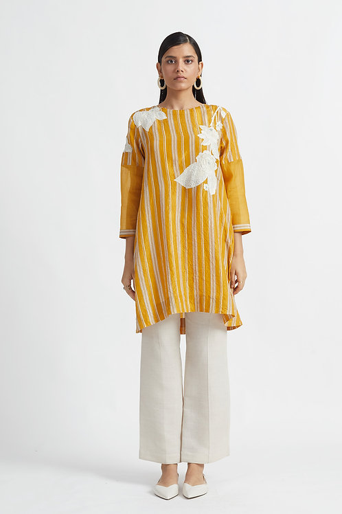 Yellow Sakura Dress
