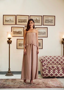 Rose-Gold Jumpsuit