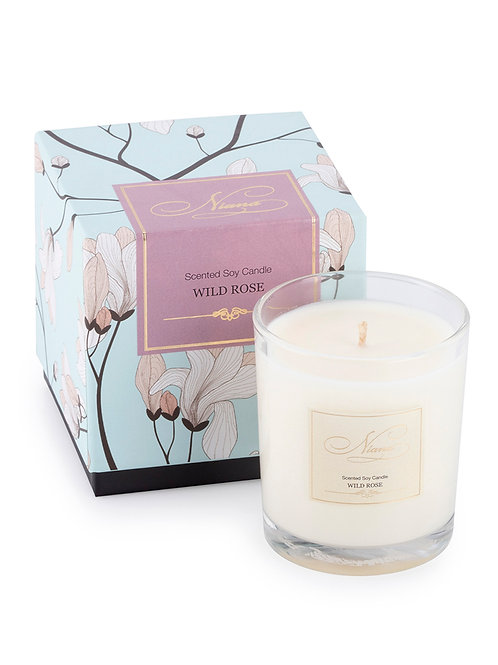 Wild Rose Candle