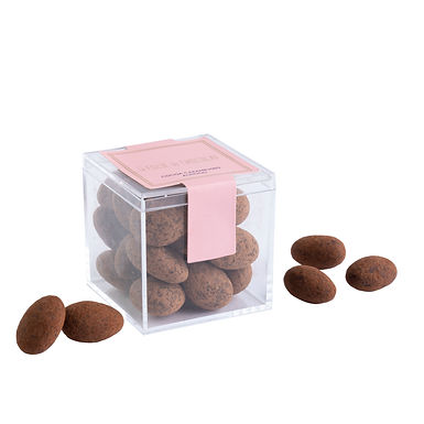 Cocoa carmelized almonds (80 gms)