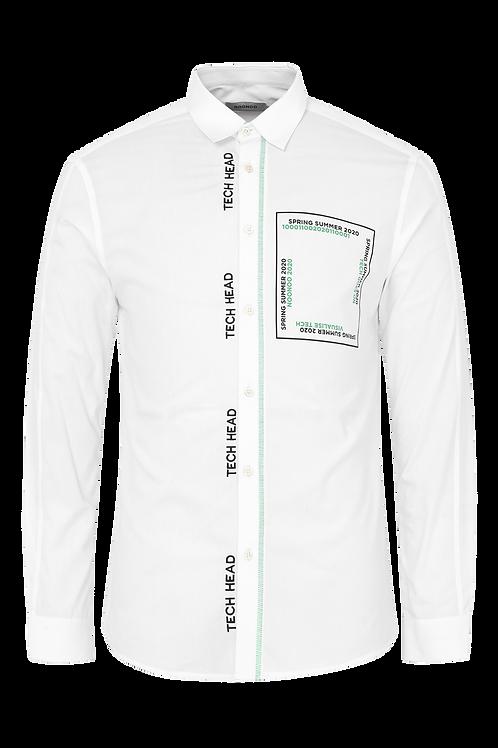 White Digital Shirt